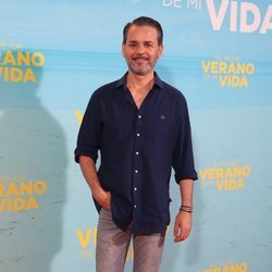 Jorge Lucas en la premiere de 'El mejor verano de mi vida'