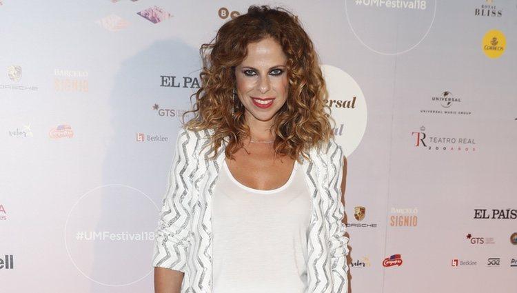 Pastora Soler en el concierto de Niña Pastori durante el Universal Music Festival 2018