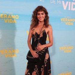 Irene Arcos en la premiere de 'El mejor verano de mi vida'