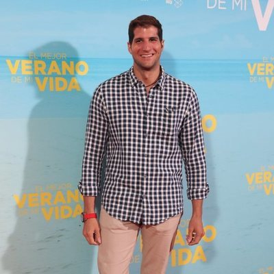 Julián Contreras en la premiere de 'El mejor verano de mi vida'