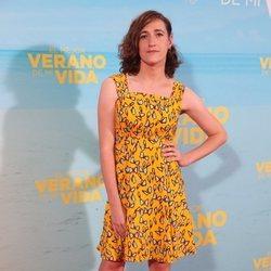 Abril Zamora en la premiere de 'El mejor verano de mi vida'