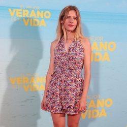Paula Muñoz en la premiere de 'El mejor verano de mi vida'