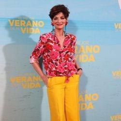 Olga Hueso en la premiere de 'El mejor verano de mi vida'