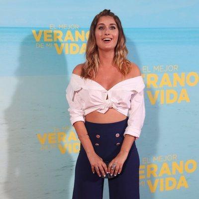 Nerea Camacho en la premiere de 'El mejor verano de mi vida'