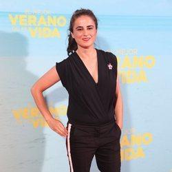 Inés la Maga en la premiere de 'El mejor verano de mi vida'