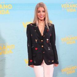Nerea Rodríguez en la premiere de 'El mejor verano de mi vida'