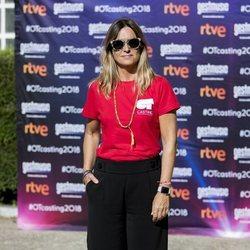 Noemí Galera en el cásting de 'OT 2018' en Madrid