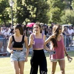 Aitana, Amaia y Ana Guerra llegando al cásting de 'OT 2018' en Madrid