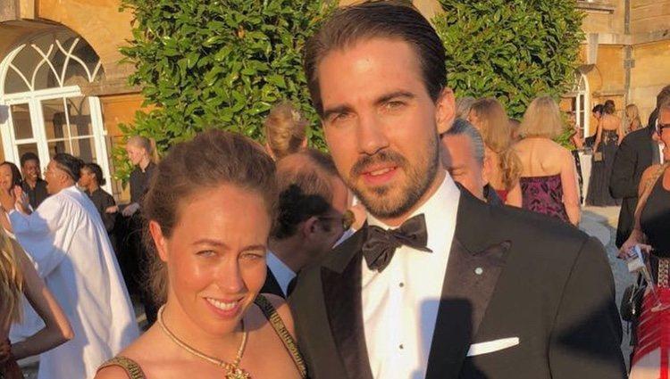 Primera fotografía de Felipe de Grecia y Nina Flohr como pareja