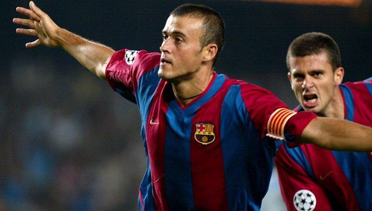 Luis Enrique en el F.C. Barcelona
