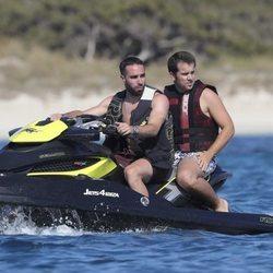Daniel Carvajal de vacaciones por Ibiza