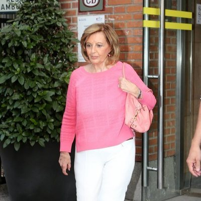 María Teresa Campos acompañando a Terelu en su ingreso en el hopital donde será intervenida