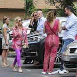 Kike Calleja, Carmen Borrego, su hija, Rocío Carrasco y José Carlos Bernal visitaron a Terelu