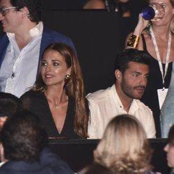 Paula Echevarría y Miguel Torres en el concierto de Luis Miguel en Starlite