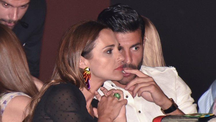 Miguel Torres y Paula Echevarría, muy cómplices en Starlite