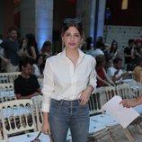 Miriam Giovanelli en en el front row de Juan Vidal en Madrid Fashion Week primavera/verano 2019