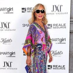Carmen Lomana en la fiesta de Jorge Vázquez en Madrid Fashion Week primavera/verano 2019