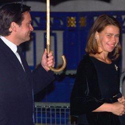Lady Sarah Chatto y su marido Daniel en el Jubileo de Oro de la Reina Isabel II