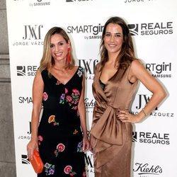 Ana Bono y Andrea Pascual en la fiesta de Jorge Vázquez en Madrid Fashion Week primavera/verano 2019