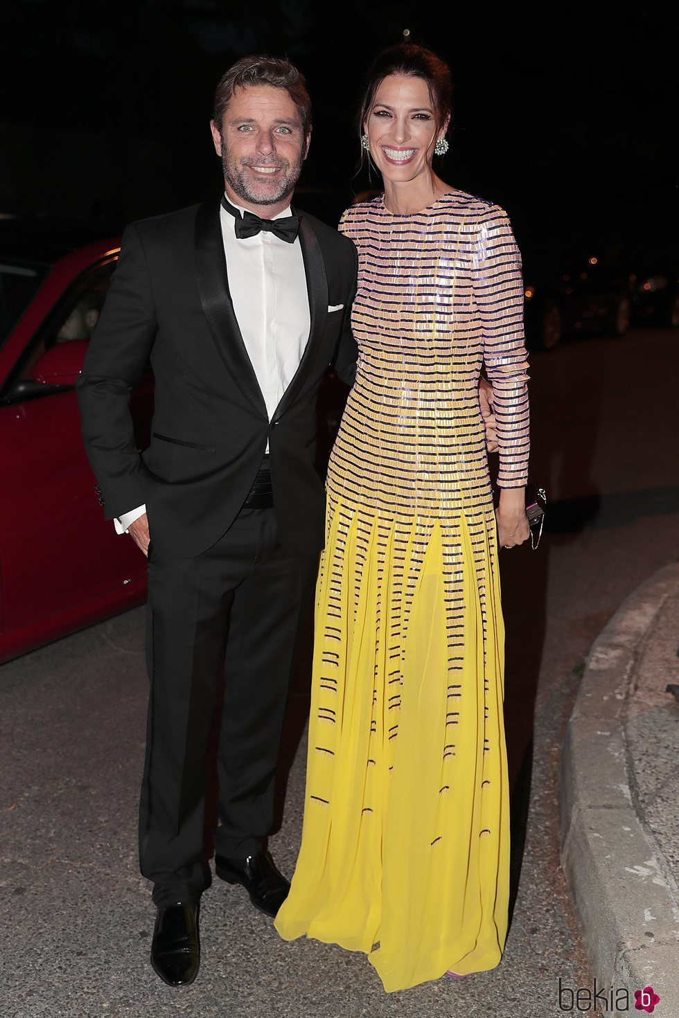 Laura Sánchez y David Ascanio muy felices tras su boda secreta