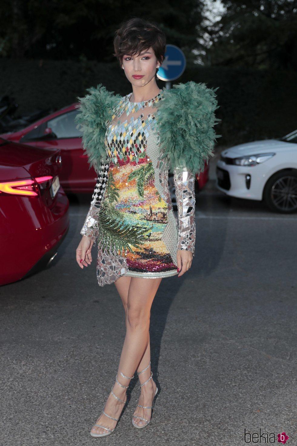 Úrsula Corberó a la entrada la fiesta del 30 aniversario de Vogue