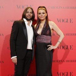 Joaquín Cortés y Mónica Moreno en la fiesta del 30 aniversario de Vogue