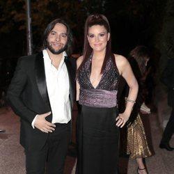 Joaquín Cortés y Mónica Moreno a la entrada de la fiesta del 30 aniversario de Vogue
