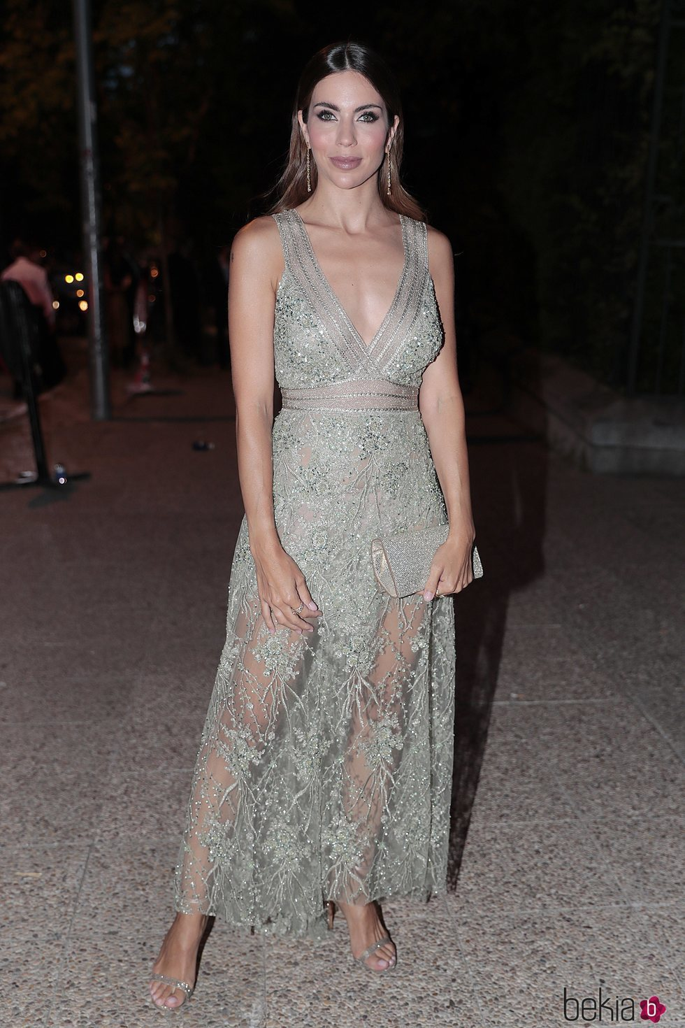 Melissa Jiménez llegando a la fiesta del 30 aniversario de Vogue