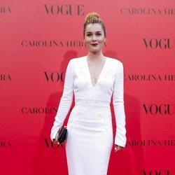 Nadia de Santiago en la fiesta del 30 aniversario de Vogue