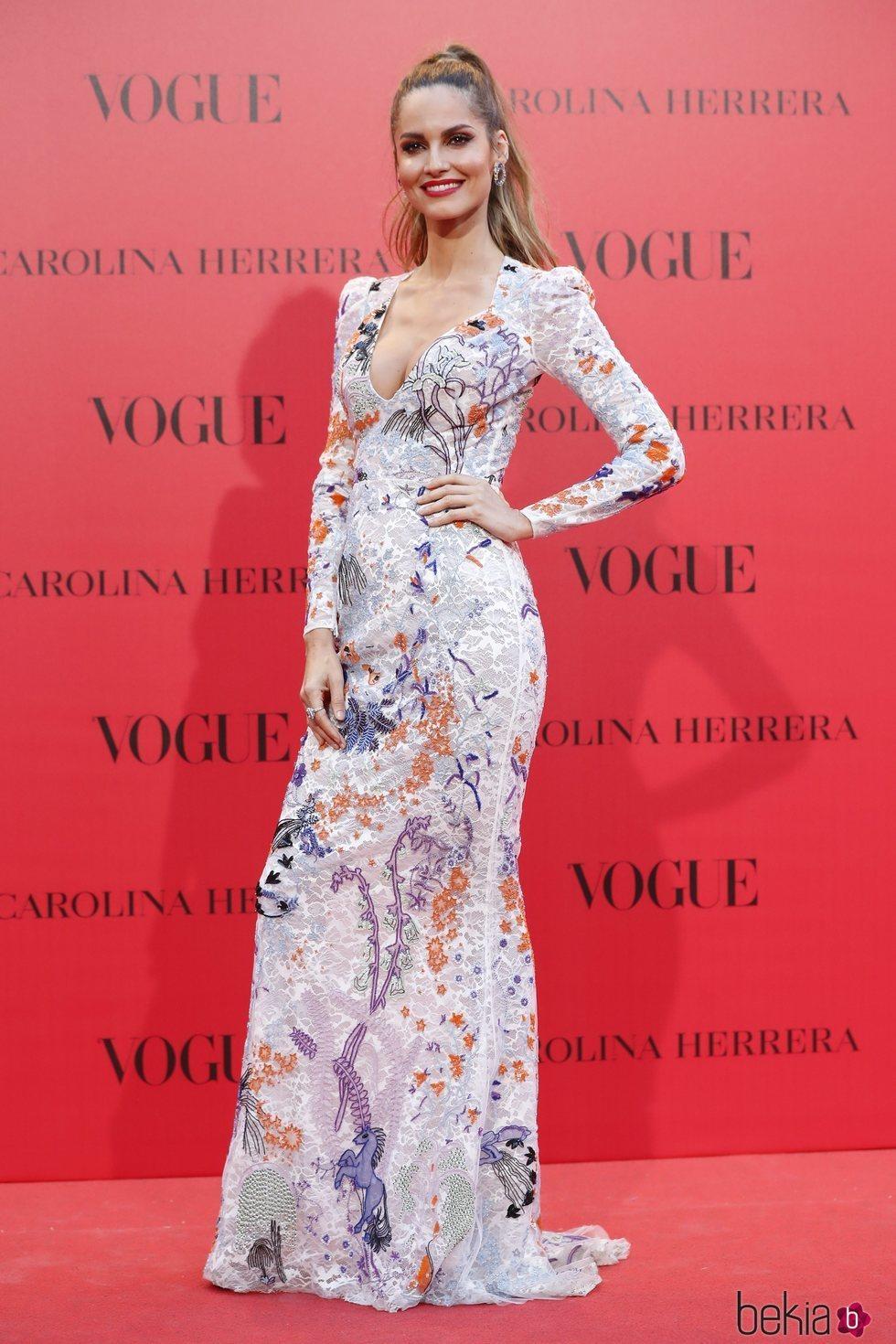 Ariadne Artiles en la fiesta del 30 aniversario de Vogue