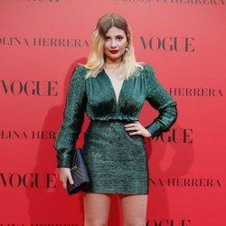 Miriam Giovanelli en la fiesta del 30 aniversario de Vogue