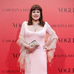 Loles León en la fiesta del 30 aniversario de Vogue