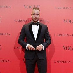 Carles Francino en la fiesta del 30 aniversario de Vogue