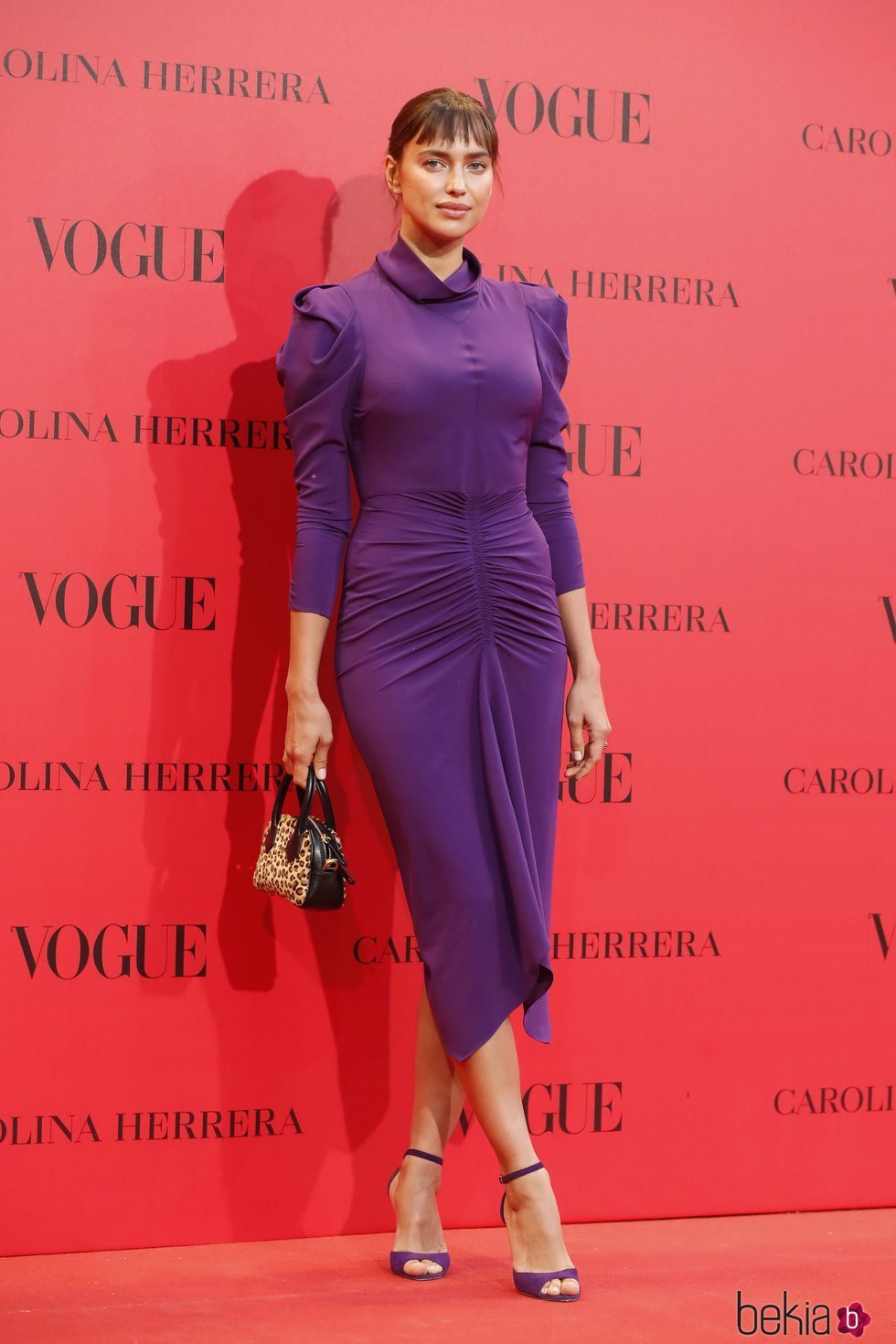 Irina Shayk en la fiesta del 30 aniversario de Vogue