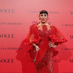 Rossy de Palma en la fiesta del 30 aniversario de Vogue