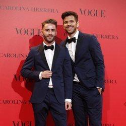 Pelayo Díaz y Andy McDougall en la fiesta del 30 aniversario de Vogue