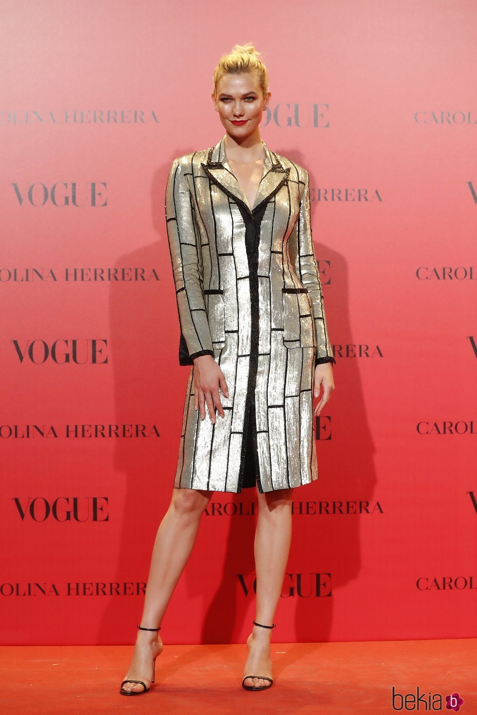 Karlie Kloss en la fiesta del 30 aniversario de Vogue