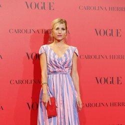 Ana Fernández en la fiesta del 30 aniversario de Vogue
