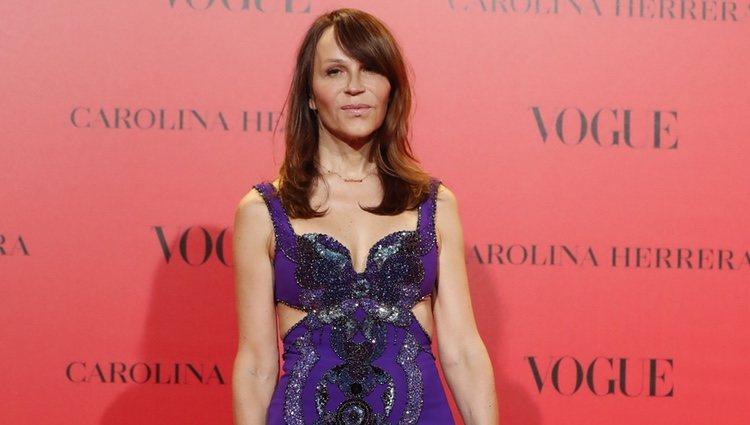 Antonia San Juan en la fiesta del 30 aniversario de Vogue