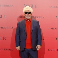 Pedro Almodóvar en la fiesta del 30 aniversario de Vogue