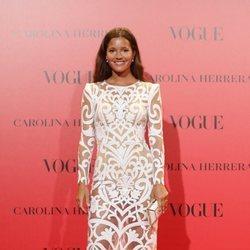 Malena Costa en la fiesta del 30 aniversario de Vogue
