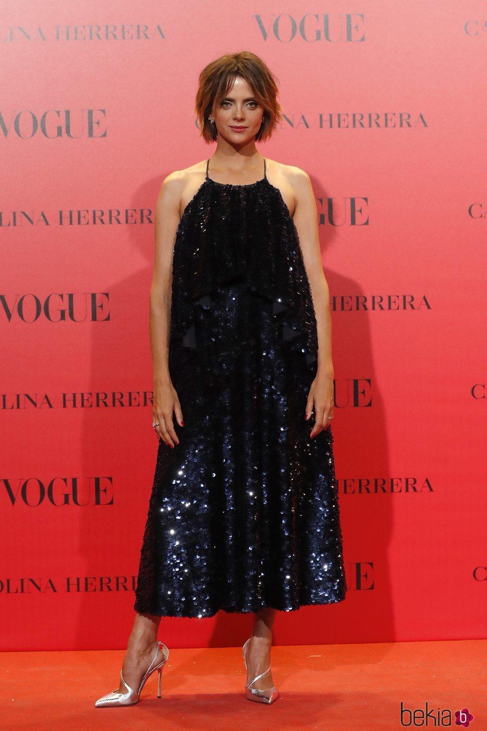 Macarena Gómez en la fiesta del 30 aniversario de Vogue