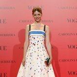 Manuela Velasco en la fiesta del 30 aniversario de Vogue