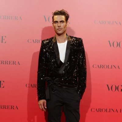 Jon Kortajarena en la fiesta del 30 aniversario de Vogue