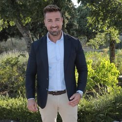 Rafa Mora llegando a la boda de Diego Matamoros y Estela Grande