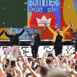 Backstreet Boys en un concierto en Central Park