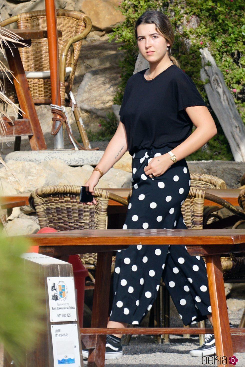 Alba Díaz de vacaciones en Ibiza