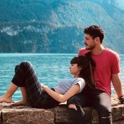 Cepeda y Aitana ('OT') disfrutando de unas vacaciones en Suiza
