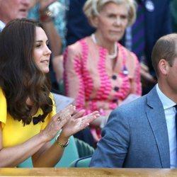 Los Duques de Cambridge acuden a la final masculina de Wimbledon 2018