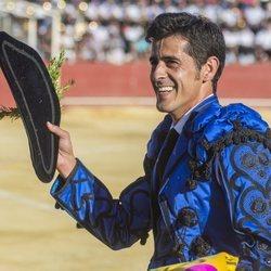 Víctor Janeiro durante su corrida en Prado del Rey
